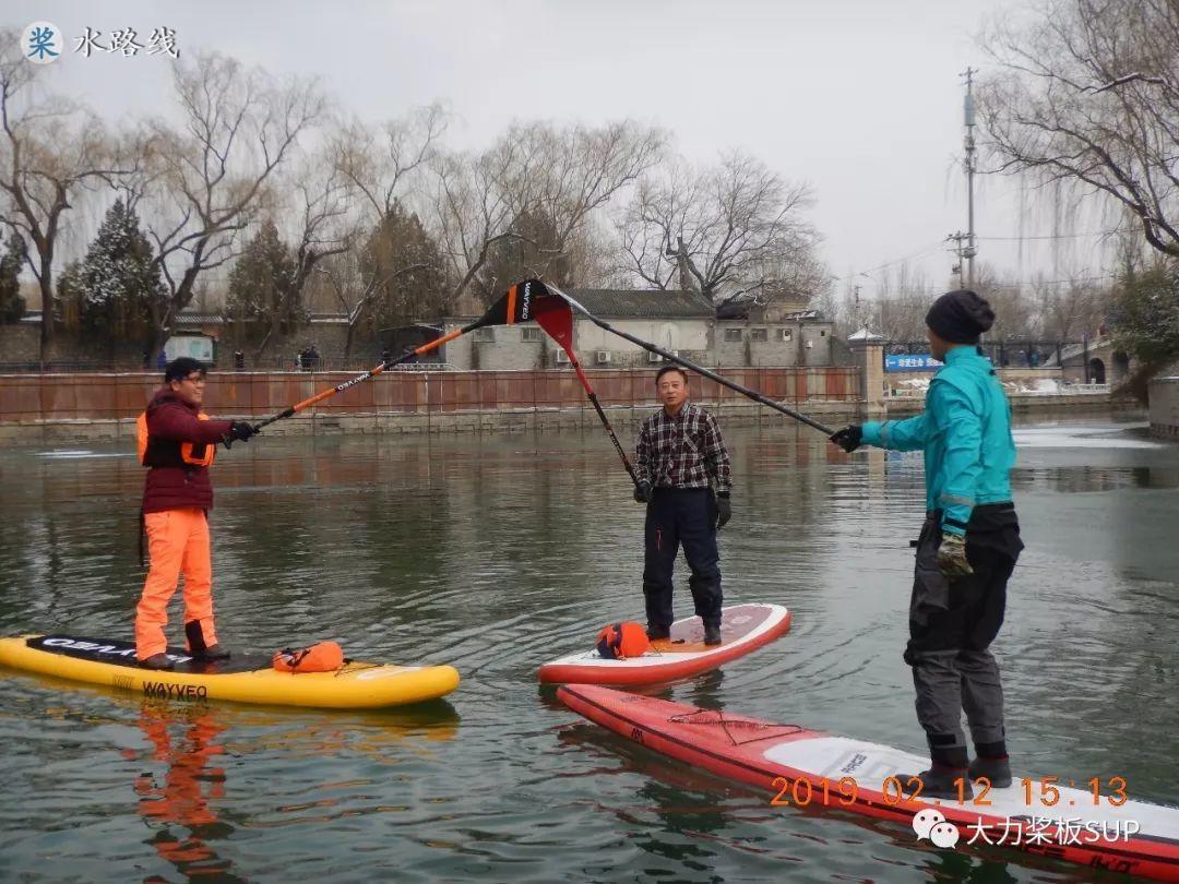 水路线 -北京下大雪,颐和园·昆玉河·冰雪桨板SUP大爬梯!