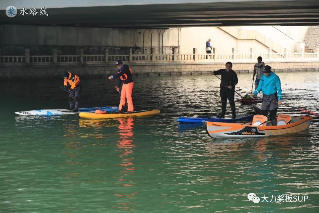 水路线 -2019年3月3日,北京桨板开板大爬梯!完美举行!