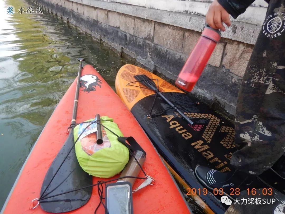 水路线 -大力桨板视频·SUP改装!15尺旅行桨板+独木舟充气座椅!