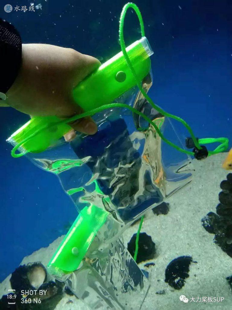 今儿个大力给您说说防水手机袋(20分钟视频)- 水路线
