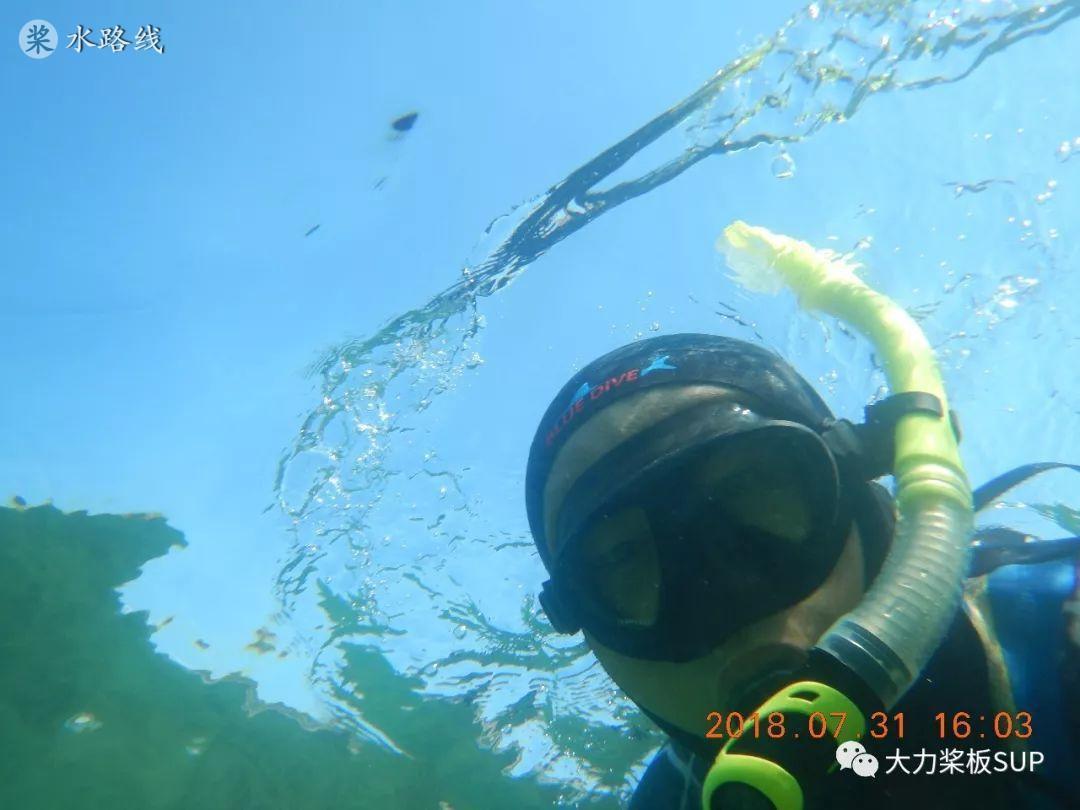 迪卡侬全干式浮潜面罩 详细介绍- 水路线