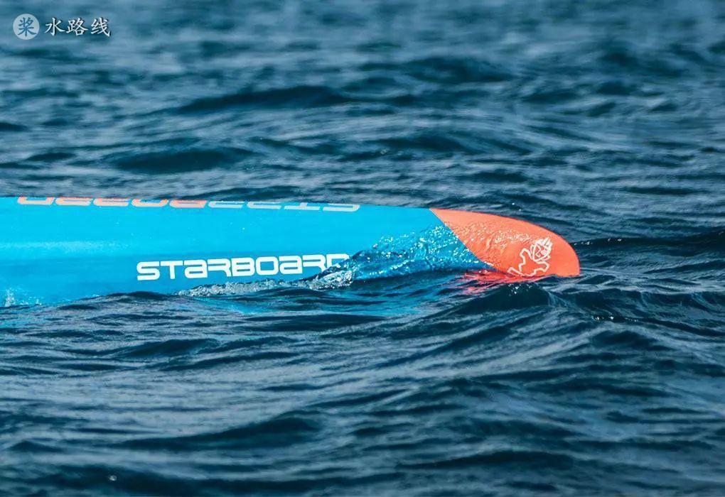 这些板,让你在桨板竞速中一枝独秀!Starboard说的对。- 水路线