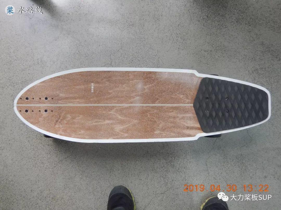 迪卡侬门店8.5折买了个《Carve 陆地冲浪板》- 水路线