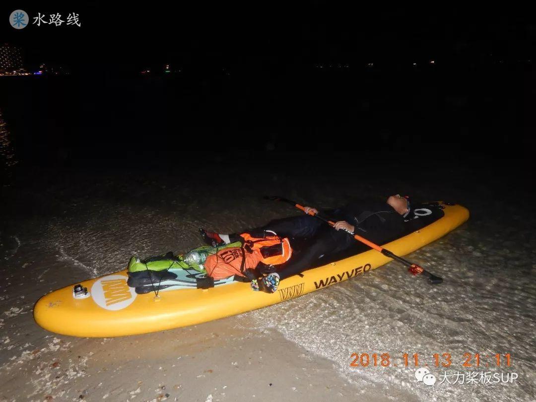 水路线 -SUP桨板环海南旅行之(1)22公里环三亚东岛