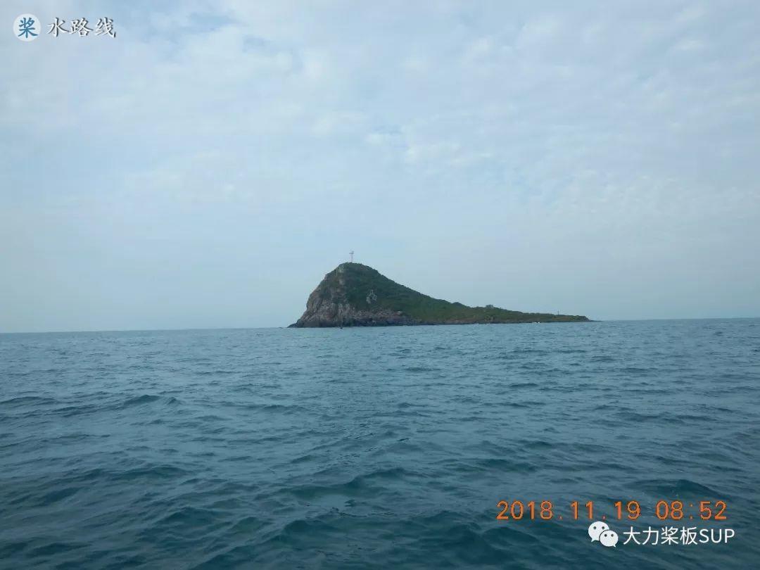 水路线 -SUP桨板环海南旅行之(7)东锣岛,西鼓岛,双岛连跳。