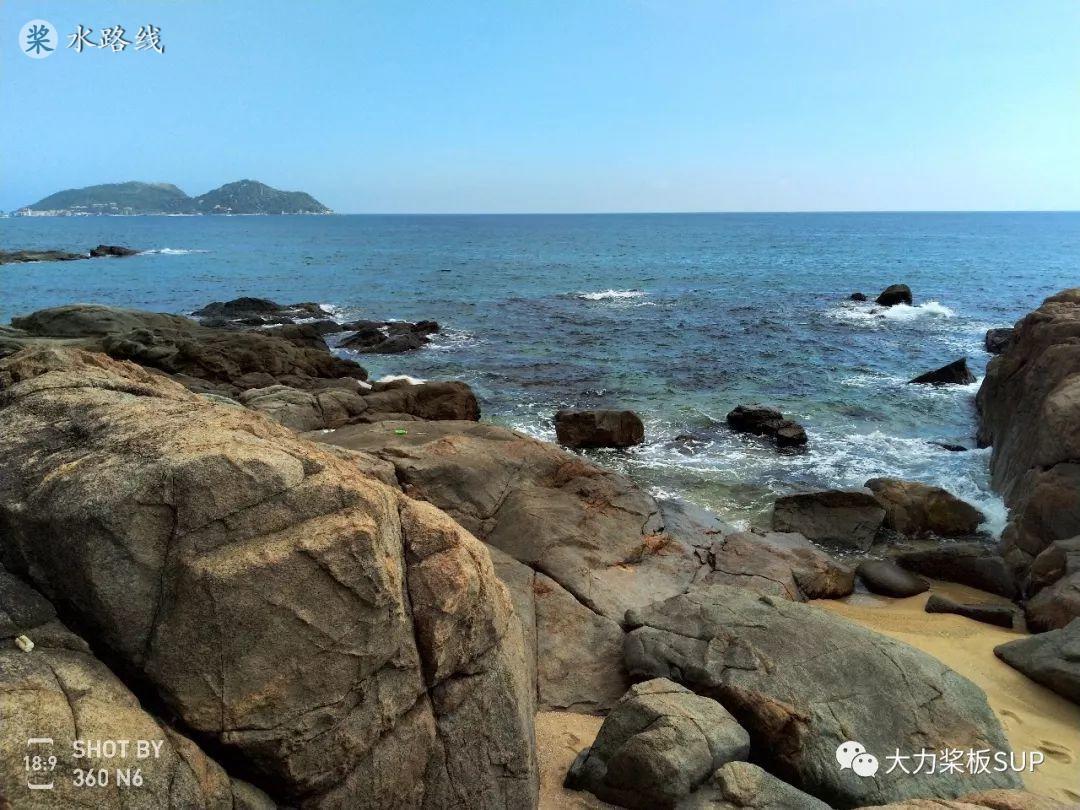水路线 -SUP桨板环海南旅行之(24)加井岛睡帐篷,分界洲岛自由潜。