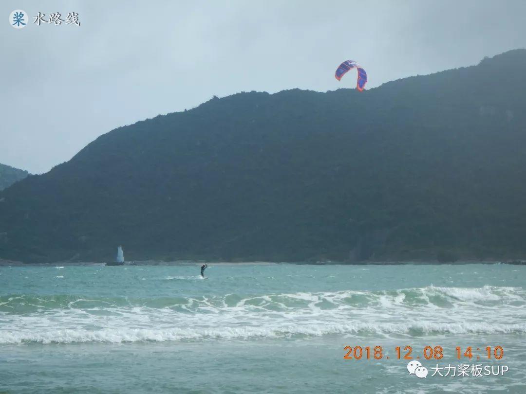 水路线 -SUP桨板环海南旅行之(26)后海湾 帆板 冲浪板 风筝冲浪