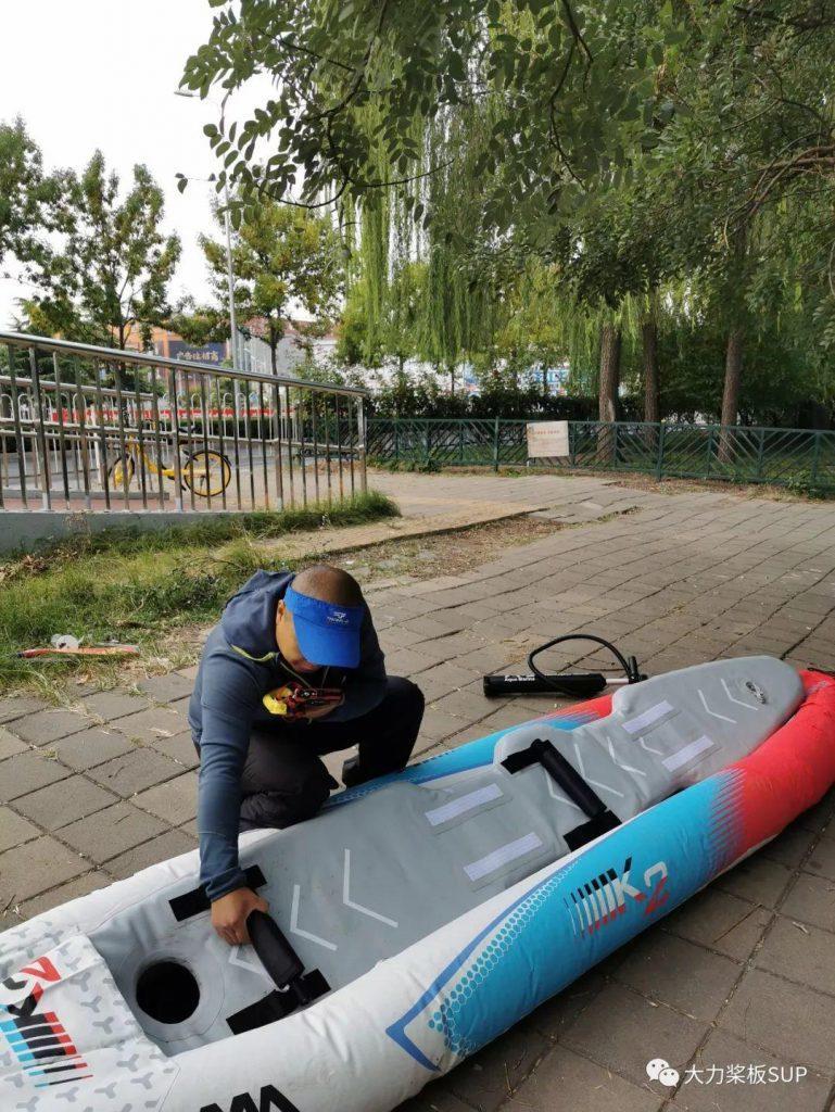 北方气温降低,请广东深圳桨友体验 乐划K2充气独木舟!